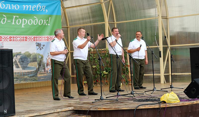 вокальная группа Пинского пограничного отряда Единство 4